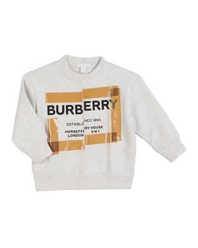 Patch Logo Sweatshirt  Size 3-14