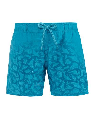 Jim Sea Creatures Swim Trunks  Size 2-14
