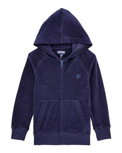 Ryan Terry Cloth Zip-Up Hoodie  Size 2-14