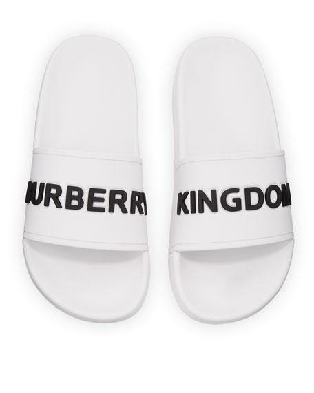 422d99ee91f Burberry Furley Logo Pool Slide Sandals