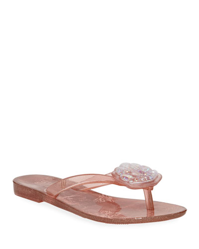 Harmonic V Seashell Thong Sandal  Toddler/Kids