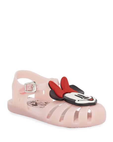 Mini Aranha Mickey & Friends Cutout Sandal, Baby/Toddler/Kids