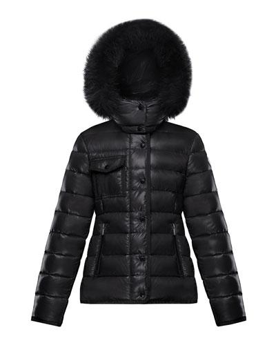 7046a0541 Sizes 7-14 Girls' Outerwear : Puffer Coats & Vests at Bergdorf Goodman