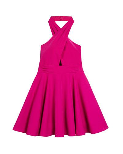 Sydney Cady Halter Dress  Size 7-16