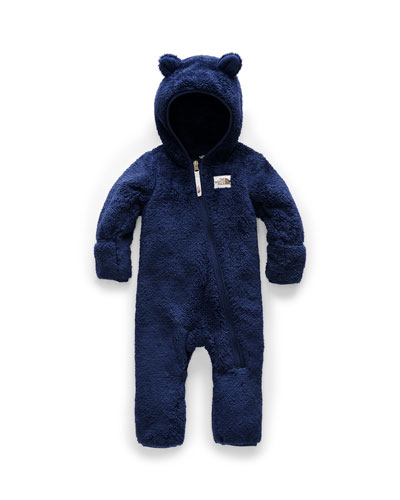 Kid's Campshire Sherpa Fleece Hooded Coverall, Size 6-24 Months