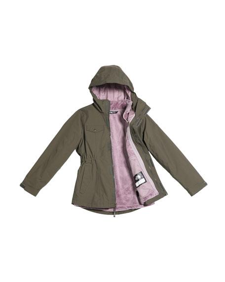 Girls' Osolita Triclimate Jacket, Size