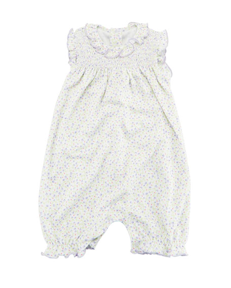 Spring Whispers Sleeveless Playsuit, Size 3-24 Months