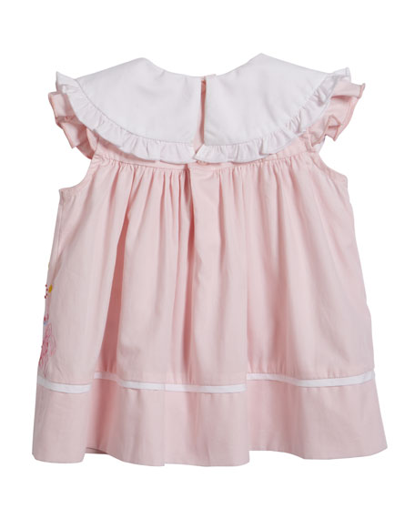 Birthday Dress with Bloomers, Size 12-24 Months