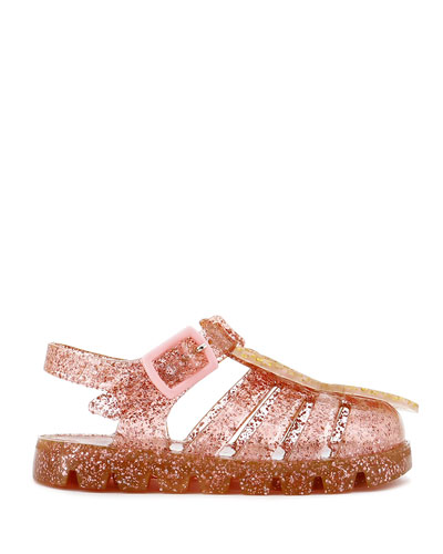 Butterfly Glitter Jelly Sandals  Baby/Toddler