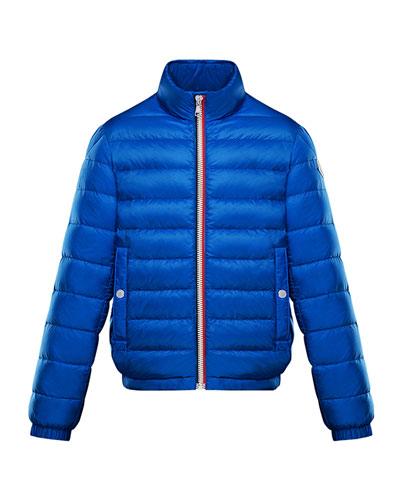Boys' Tarn Lightweight Down Jacket, Size 4-6