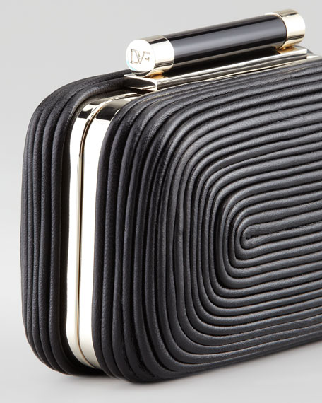 Tonda Small Clutch Bag, Black