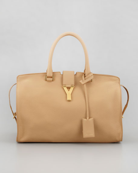 New Cabas Chyc Medium Tote Bag, Beige