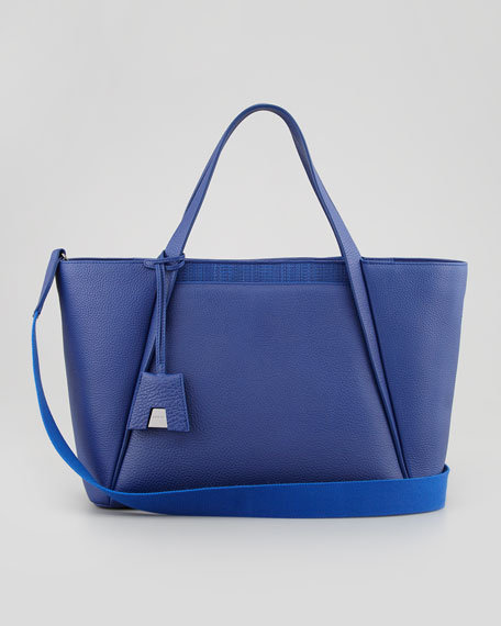 Alexa Medium Business Tote Bag, Blue