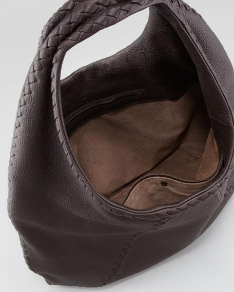 Cervo Large Hobo Bag, Espresso