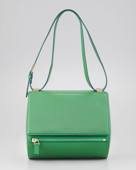 Pandora Rigid Medium Palma Box Bag, Emerald
