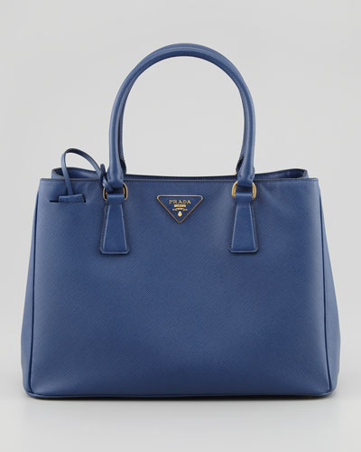 Saffiano Lady Tote Bag, Navy
