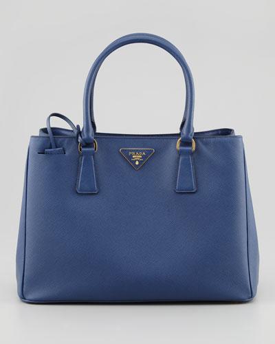 Saffiano Lady Tote Bag, Navy