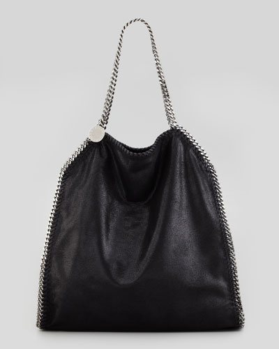 Falabella Large Tote Bag, Black