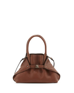 Ai Cervo Extra-Small Messenger Bag, Brown