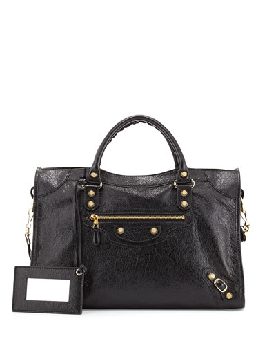 Giant 12 Golden City Bag, Black