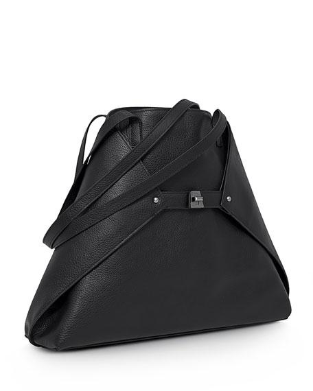 Ai Medium Cervo Tote Bag, Black