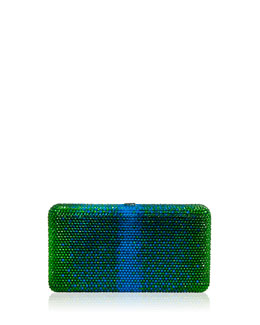 Airstream Large Ombre Clutch Bag, Green