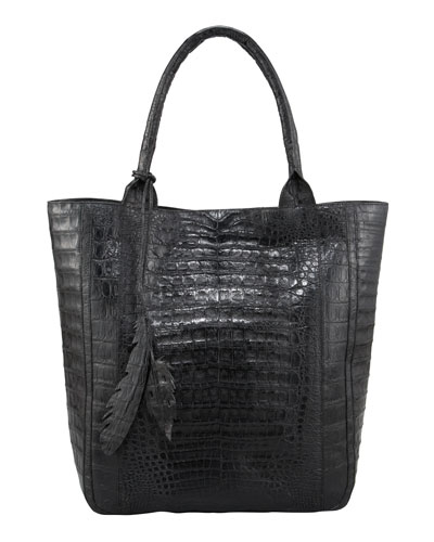 Crocodile Leaf Tote Bag