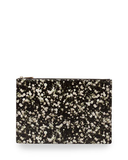 Iconic Floral-Print Zip Pouch