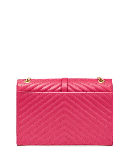 Monogram Matelasse Shoulder Bag, Pink