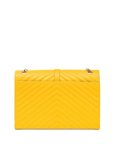 Monogram Matelasse Shoulder Bag, Yellow