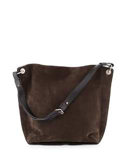 Prospect Suede Large Hobo Bag