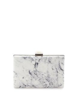 Le Dix Box Minaudiere Bag, Marble