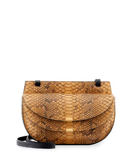 Georgia Python Mini Crossbody Bag