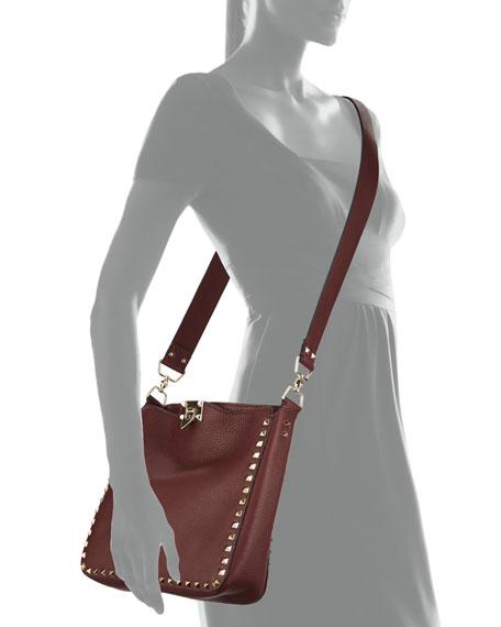 Valentino Rockstud Small Hobo bag Genuine Online Discount Websites Clearance 2018 New SnnLDu