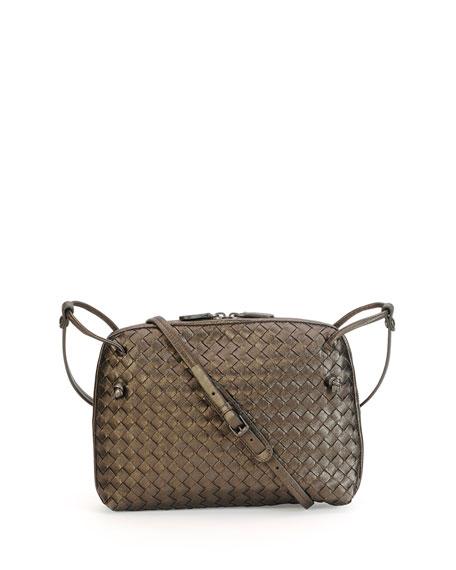 3271035994 Bottega Veneta Veneta Small Woven Messenger Bag