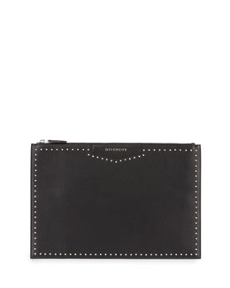Antigona Large Studded Clutch Bag