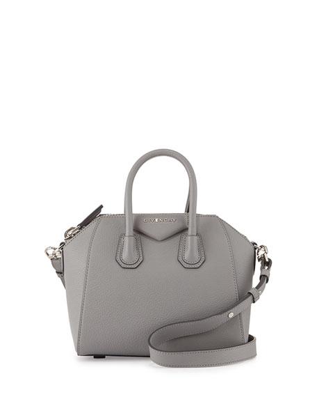 4943d2e7c2 Givenchy Antigona Mini Leather Satchel Bag