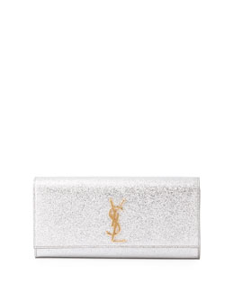 Monogramme Metallic Clutch Bag