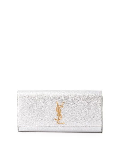 Monogram Metallic Clutch Bag