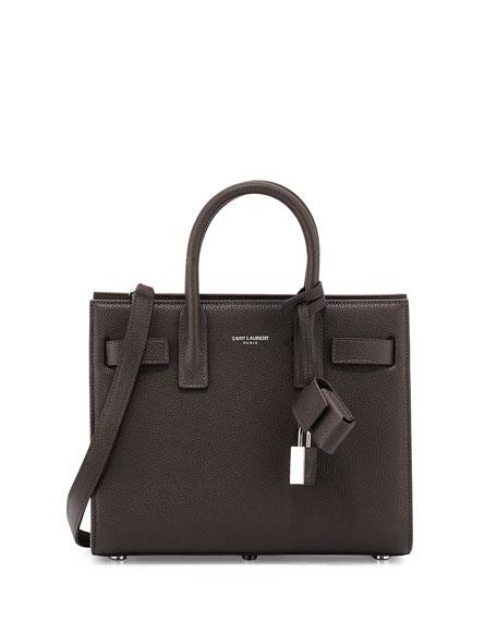 5470200af6 Saint Laurent Sac de Jour Leather Nano Carryall Bag