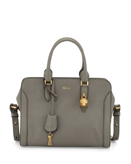 Medium Padlock  Zip-Around Satchel Bag