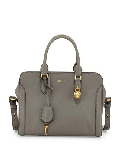 Medium Padlock  Zip-Around Satchel Bag