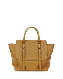 Intreccio Large Leather Tote Bag