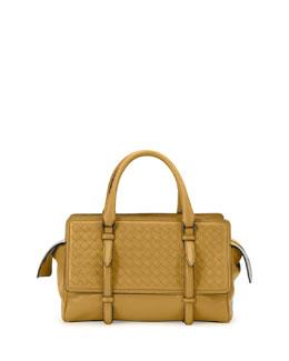 Intreccio Small Leather Tote Bag