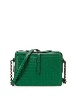 Intreccio Medium Leather Shoulder Bag