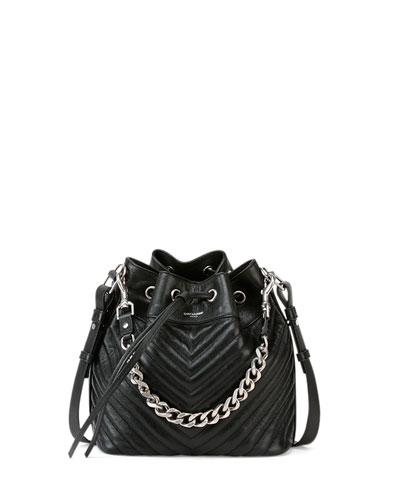Emmanuelle Giant Quilted Bucket Bag