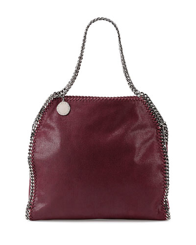 Falabella Small Tote Bag, Plum