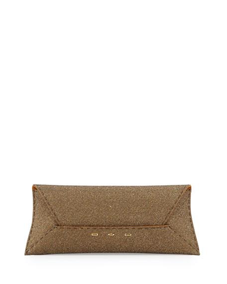 Manila Sparkle Stretch Clutch Bag, Golden