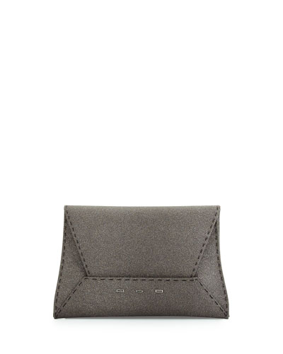 Sparkle Manila Clutch Bag, Gray