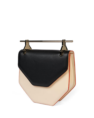 Amor Fati Leather Satchel Bag